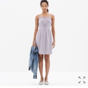 Madewell Lace Came Silk insert Dress
